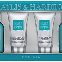Baylis-Harding-Men-Citrus-Bath-Gift-Set-Lime-and-Mint-4-Piece-0