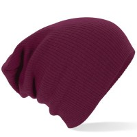 Beechfield-Unisex-Slouch-Winter-Beanie-Hat-One-Size-Burgundy-0