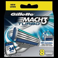 Gillette-Mach3-Turbo-Refill-Razor-Blades-Pack-of-8-0
