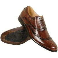 Goor-Mens-Leather-Lined-Brogue-Shoes-in-Black-or-Brown-UK-8-0
