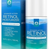 InstaNatural-Retinol-Moisturizer-Cream-With-25-Retinol-Vitamin-C-10-Vegan-Hyaluronic-Acid-Shea-Butter-Jojoba-Oil-This-Anti-Aging-Moisturizer-is-the-Perfect-Night-or-Day-Cream-to-Reduce-Wrinkles-and-Ot-0