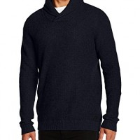 Jack-and-Jones-Mens-JJCOFORCE-Knit-Shawl-Neck-Long-Sleeve-Jumper-Blue-Navy-Blazer-Large-0