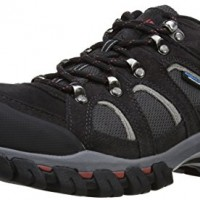 Karrimor-Bodmin-IV-Weathertite-Mens-Low-Rise-Hiking-Shoes-Grey-Black-Sea-8-UK-42-EU-0