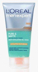 LOral-Paris-Men-Expert-Pure-Matte-Deep-Exfoliating-Gel-Wash-150ml-0