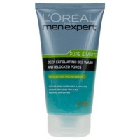 LOreal-Men-Expert-Pure-Matte-Deep-Exfoliating-Gel-Wash-150ml5oz-by-LOreal-Paris-0