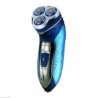 Mens-Electric-Shaver-Cordless-Rechargeable-Washable-Floating-3-Heads-0