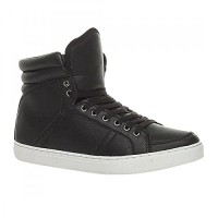 Mens-Lace-Up-Casual-Flat-Hi-High-Top-Ankle-Boots-Shoes-Trainers-Sneakers-0