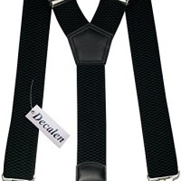 Mens-braces-black-wide-adjustable-and-elastic-suspenders-Y-shape-with-a-very-strong-clips-Heavy-duty-Black-0