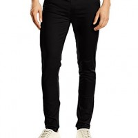 New-Look-Mens-Skinny-Chino-Trousers-Black-W34-Regular-0