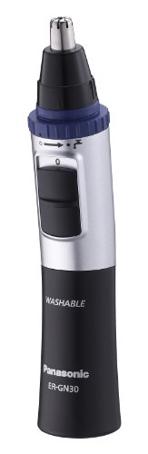 Panasonic-ER-GN30-Nose-Ear-and-Facial-Hair-Trimmer-WetDry-with-Vortex-Cleaning-System-Black-0