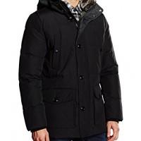 Tommy-Hilfiger-Mens-SASHA-DOWN-PARKA-Parka-Jacket-Black-flag-Black-083-XX-Large-Manufacturer-size-XXL-0
