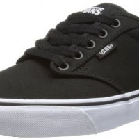Vans-Atwood-Mens-Skateboarding-Shoes-BlackWhite-Canvas-11-UK-46-EU-0