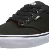 Vans-Atwood-Mens-Skateboarding-Shoes-BlackWhite-Canvas-11-UK-46-EU-0