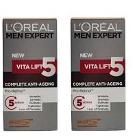 Vita-Lift-LOreal-Men-Expert-Anti-Ageing-5-Moisturiser-Daily-Complete-Face-x2-0