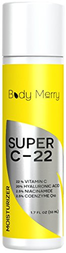 Vitamin-C-Moisturizer-Cream-for-Face-and-Neck-with-22-Vitamin-C-20-Hyaluronic-Acid-25-Niacinamide-25-Coenzyme-Q10-Shea-Butter-Organic-Jojoba-Oil-Panthenol-More-BEST-Natural-and-Organic-Anti-Aging-Form-0