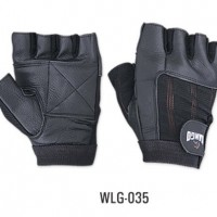 WEIGHT-LIFTING-PADDED-LEATHER-GLOVES-W035-FITNESS-TRAINING-BODY-BUILDING-GYM-SPORTS-WHEEL-CHAIR-USE-SIZE-MEDIUM-0
