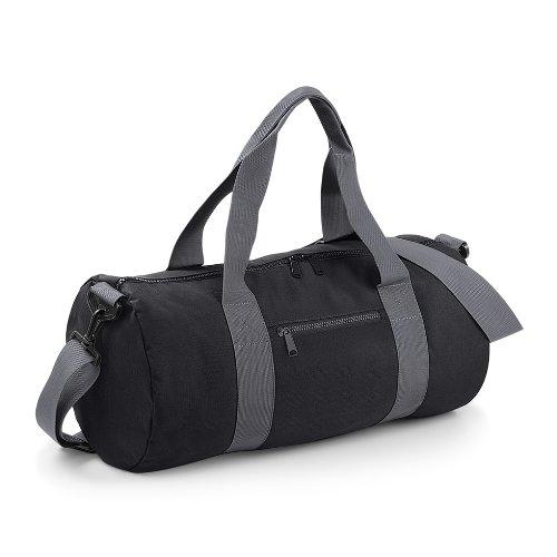 ab820beb11c4 Bagbase Plain Varsity Barrel   Duffle Bag (20 Litres) (One Size ...