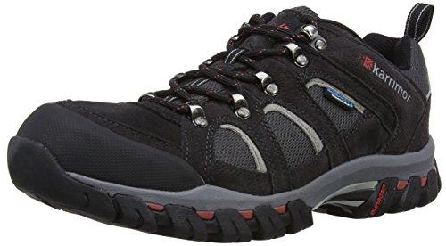 Karrimor Bodmin IV Weathertite, Men's Low Rise Hiking Shoes, Grey (Black Sea), 12 UK (46 EU)