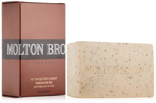 0b2516a9c6e Molton Brown Re-charge Black Pepper Bodyscrub Bar 250 g Soap for Men ...
